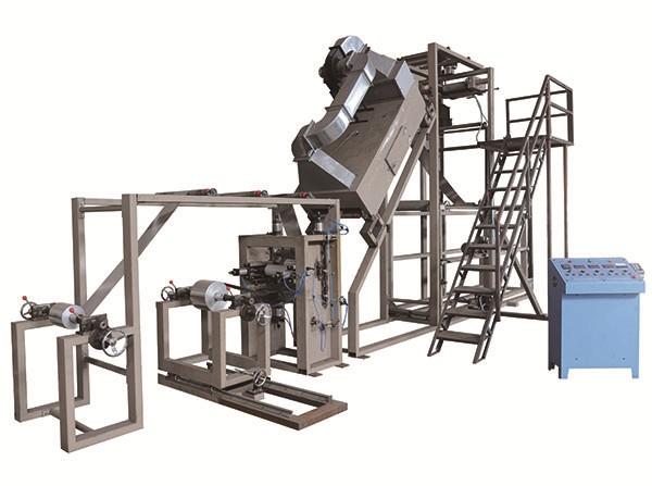 XH-JD-10型全自动铝箔连续模压复合成型绕卷机